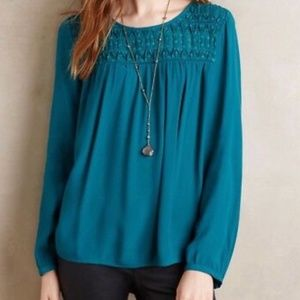 🚘MOVING🚘 Anthropologie Meadow Rue Blouse XSP